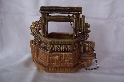 Vintage McCoy USA Pottery planter 'Wishing Well'