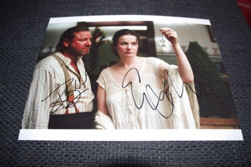 EMILY WATSON & RAY WINSTONE signed Autogramme auf 20x28 cm Bild InPerson RAR
