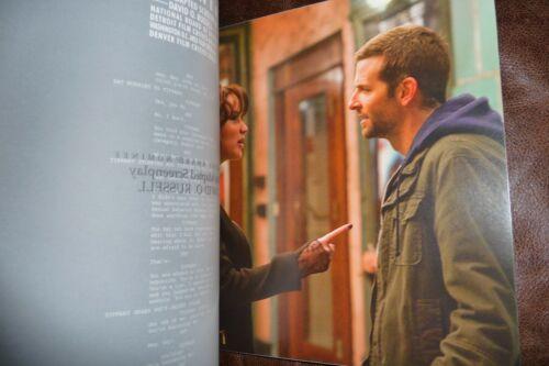 "SILVER LININGS PLAYBOOK Photo Press Book + Final Draft Script + ""Making Of"" DVD"