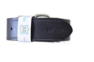 Personalised Engraved Black Men's Genuine Leather Belt