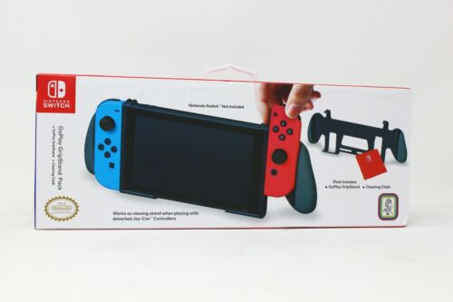 Nintendo Switch - GoPlay GripStand Pack w/ Cleaning Cloth - NEW