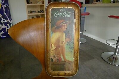 Coca Cola Original 1916 Elaine Advertising Serving Tray Authentic Original