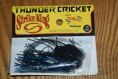 NIP Falcon Lake Craw Strike King Thunder Cricket Vibrating Bladed Jig 1//2oz