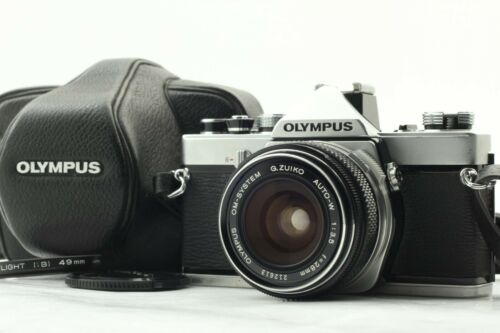 OLYMPUS OM-1 [EXC+++++] w/ OM-SYSTEM 28mm F/3.5 WIDE ANGLE LENS KIT FROM JAPAN