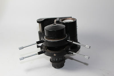 Carl Zeiss Jena Jenaval Microscope Condenser Mikroskop With Holder