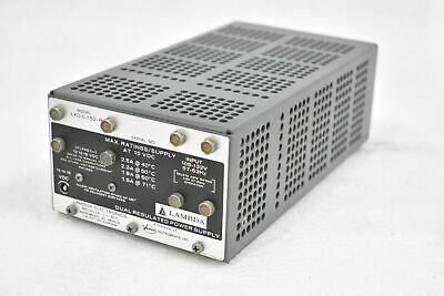 Lambda Lxd-c-152-r Dual Regulated Power Supply 105-132vac 12-15vdc 57-63hz