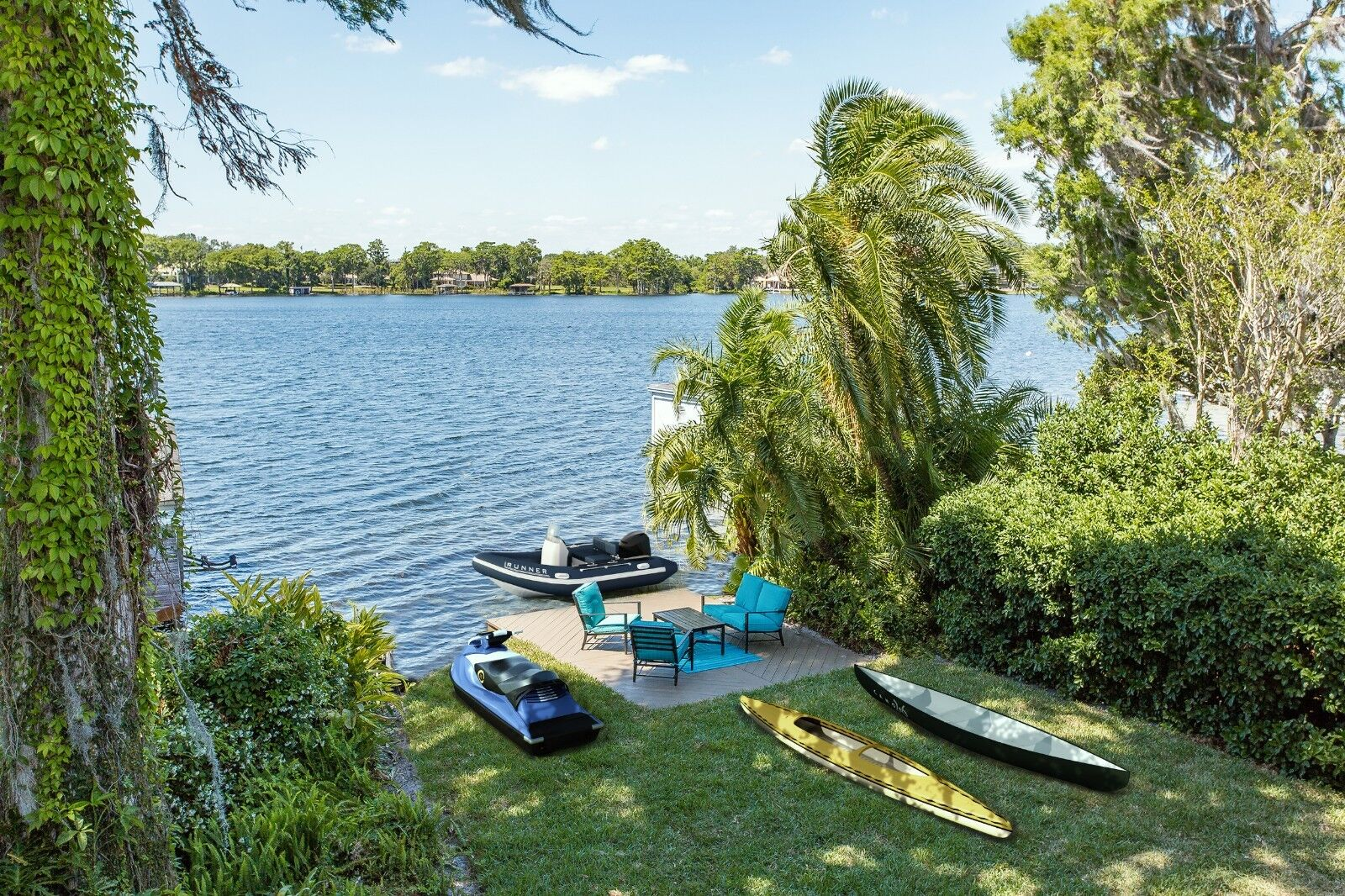 Winter Park lake lakefront home house orlando florida must sell no resereve deal