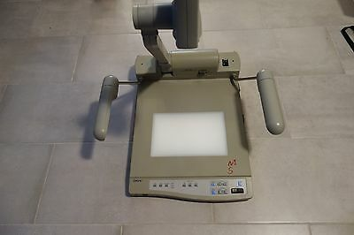 Sony Vid-p100 Visual Presenter Stand Document Camera Tested And Working