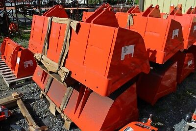 Tl1747 72 Heavy Duty Bucket For Kubota La1162 Loaders L48 Tractors.