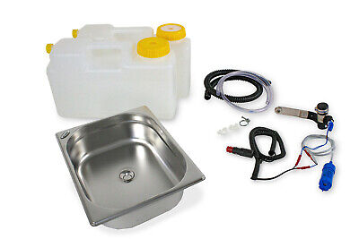 Wow Mini Cocina de Camping Bloque Kit Fregadero 325x265x100mm 12V Acción