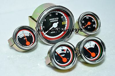 Oliver White Tachometer Gauge Kit -17501755 18501855195019552050 2150