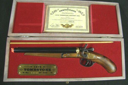 Burke Gallery Guns 1879 Tombstone Miniature Replica Double Barrel Shotgun