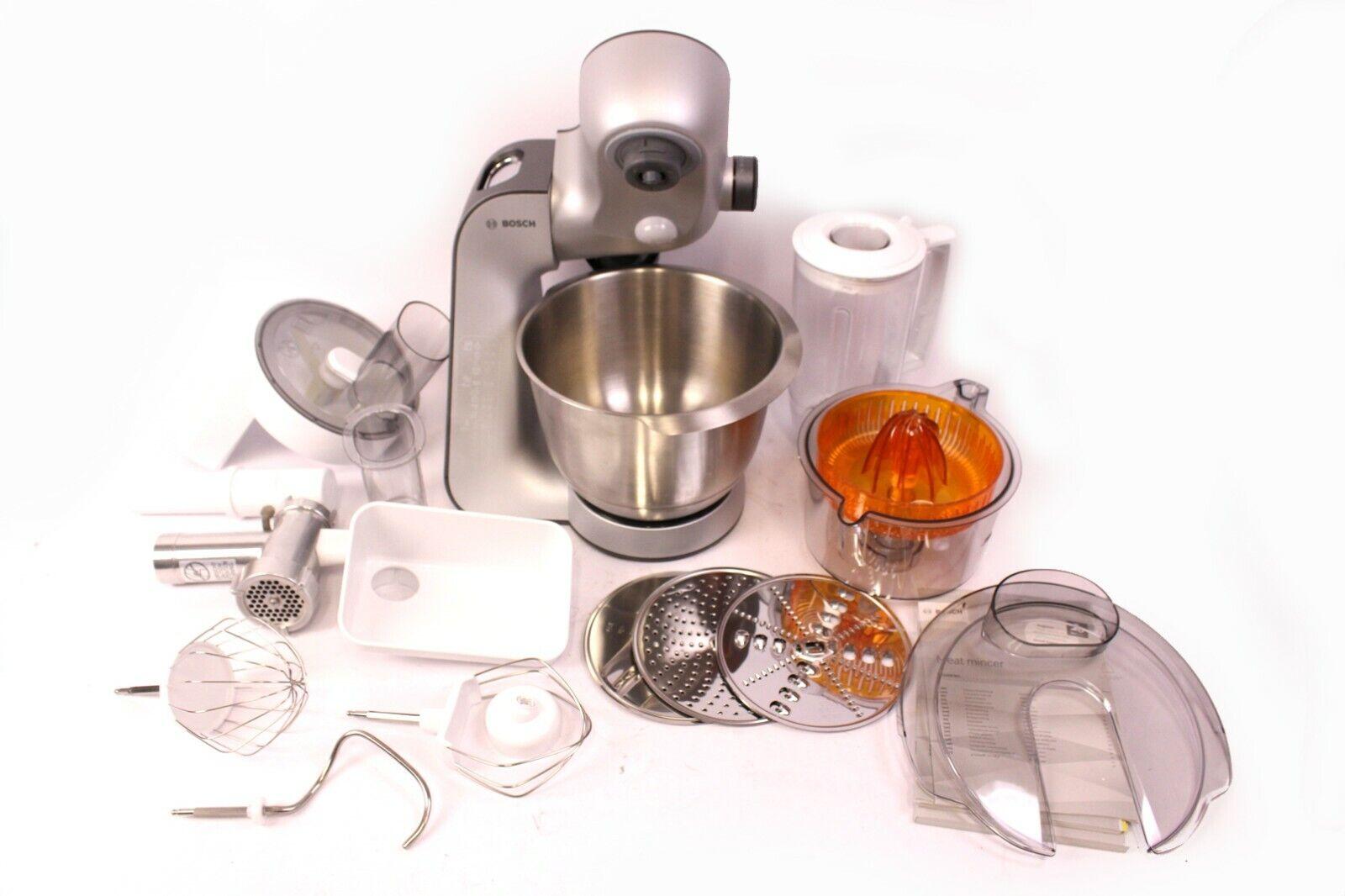 Bosch Küchenmaschine MUM5 Styline MUM 56340 Küchenmaschine 900W Silber OVP