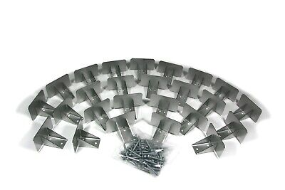 Snowcatchers Stainless Steel Snow Guards 25 Pcs Wscrews For Metal Steel Roof