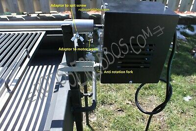 WHOLE PIG/LAMB HEAVY DUTY ROTISSERIE MOTOR ONLY 200 lbs
