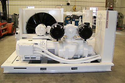 Gardner Denver Eau99p 300 Hp Rotary Screw Air Compressor Airend Warranty
