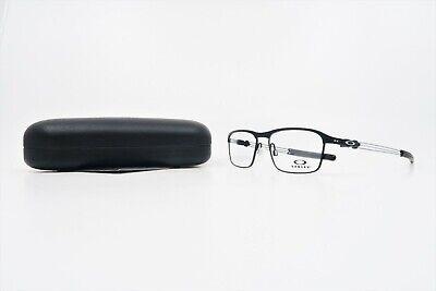 Oakley Rectangular Men's TrussRod Satin Black Glasses with Case OX 5124 01 53mm