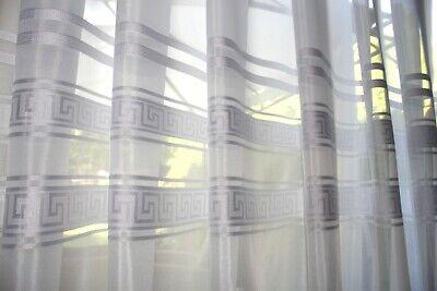 Griechische Muster (Exklusiver Gardinen ,orhang ,Stoff ,Meterware , Voile ,Griechischer Muster , NEU)