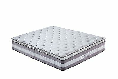 "High Density 13"" Plush Pillow Top Hybrid Memory Foam & Spring Mattress - King"