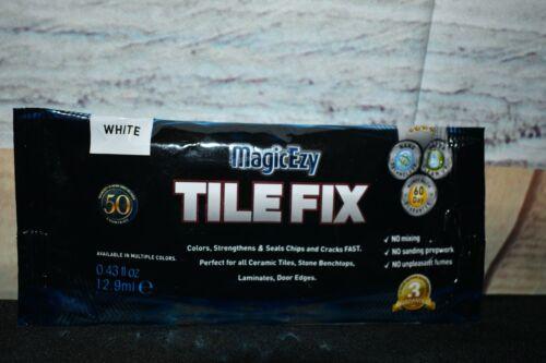 MagicEzy Tile REPAIRezy™ (White) ~ Fix Cracks & Chips in Ceramic Porcelain