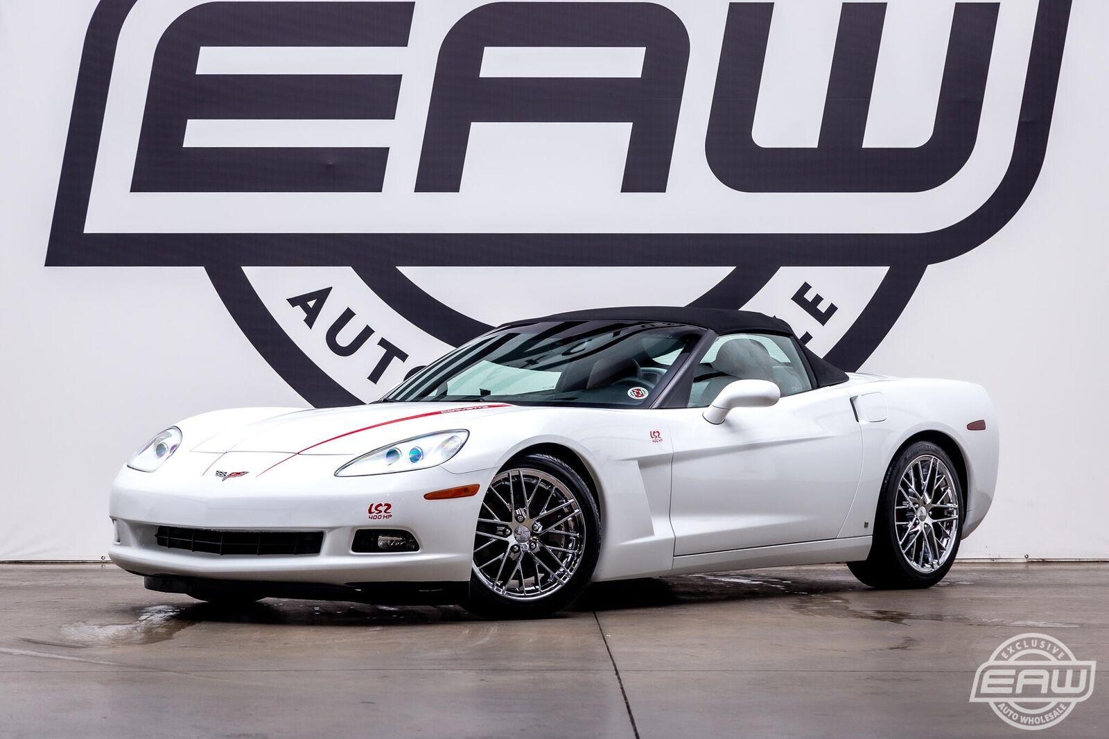 2006 White Chevrolet Corvette Convertible  | C6 Corvette Photo 2