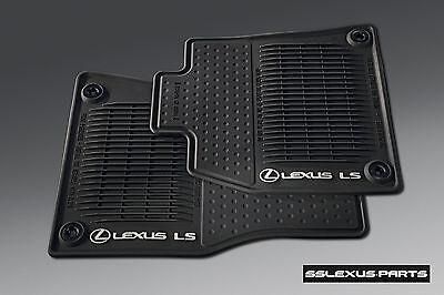 Lexus LS460L (2013-2017) (RWD) OEM Genuine 4pc ALL WEATHER FLOOR MATS