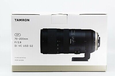 Tamron SP A025 70-200mm F/2.8 VC Di USD Lens For Nikon (G2)