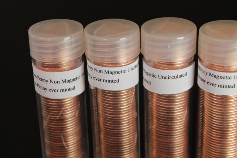 4 each 2012 canada penny roll mag. or non mag. unc from RCM MINT last of last