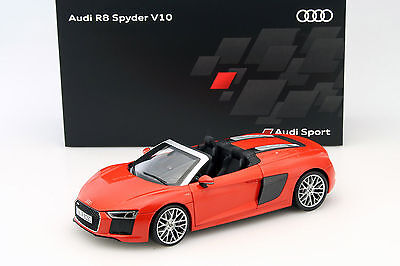 Used, Iscale 2016 Audi R8 Spyder V10 Red Color Dealer Edition 1/18 Scale New In Stock! for sale  Shipping to Canada