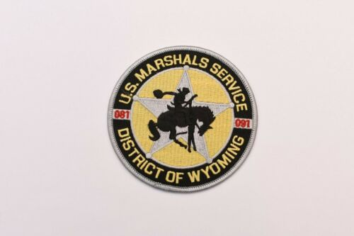 Wyoming Marshals Service Collectible Police Shoulder Patch
