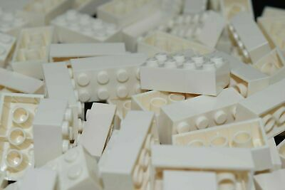 (50) NEW LEGO 2x4 WHITE BRICKS bulk lot blocks 300101 3001 moc star wars city