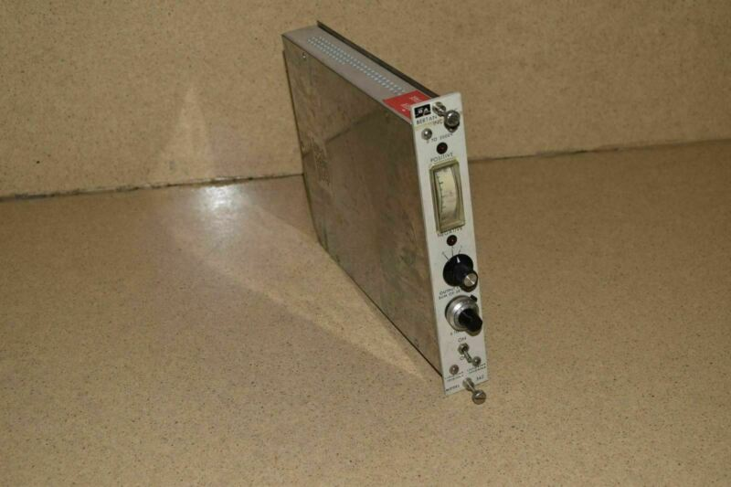 BERTAN ASSOC INC MODEL 342 POWER SUPPLY NIM BIN PLUG IN (TP213)
