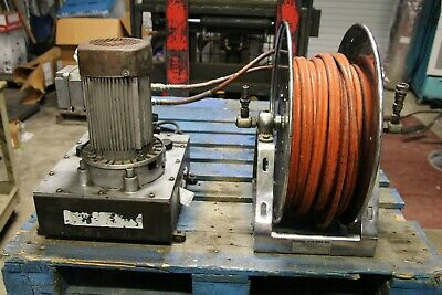 Hurst Jaws Of Life Electric Pump And Hydraulic Hose Reel Tested