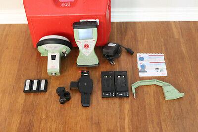 Leica Gs15 Gps Gnss Glonass Rtk Survey Vrs Rover Kit W Cs15 Smartworx