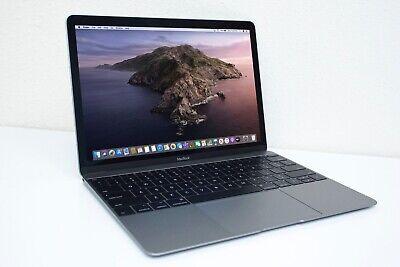 "Apple MacBook 12"" 1.2 Core m3 256GB SSD 8GB RAM 2017 Laptop AppleCare+ VIBRANT"