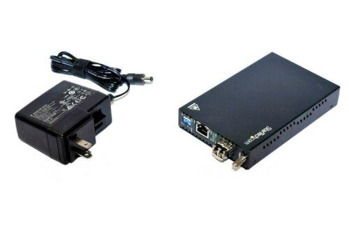 StarTech ET91000LC2 Gigabit Ethernet to Multi Mode Fiber Media Converter LC 550m