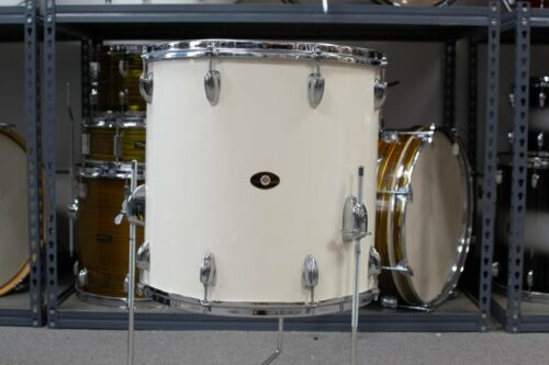 Slingerland 16x16 White Gloss Pearl Floor Tom