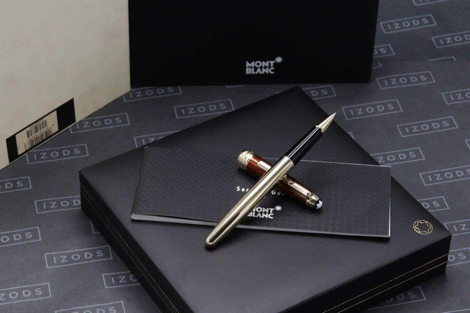 Montblanc Meisterstuck 163 Classique Solitaire Citrine Rollerball Pen