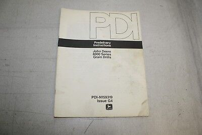 John Deere 8000 Series Grain Drill Predelivery Instructions Pdi-159319g4 151