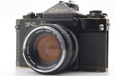 【Excellent!!+2】Canon F-1 FD 50mm  f1.4 from Japan