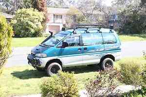 1997 Mitsubishi Delica 4x4 Turbo Diesel ($12,000 with all extras) Macquarie Belconnen Area Preview