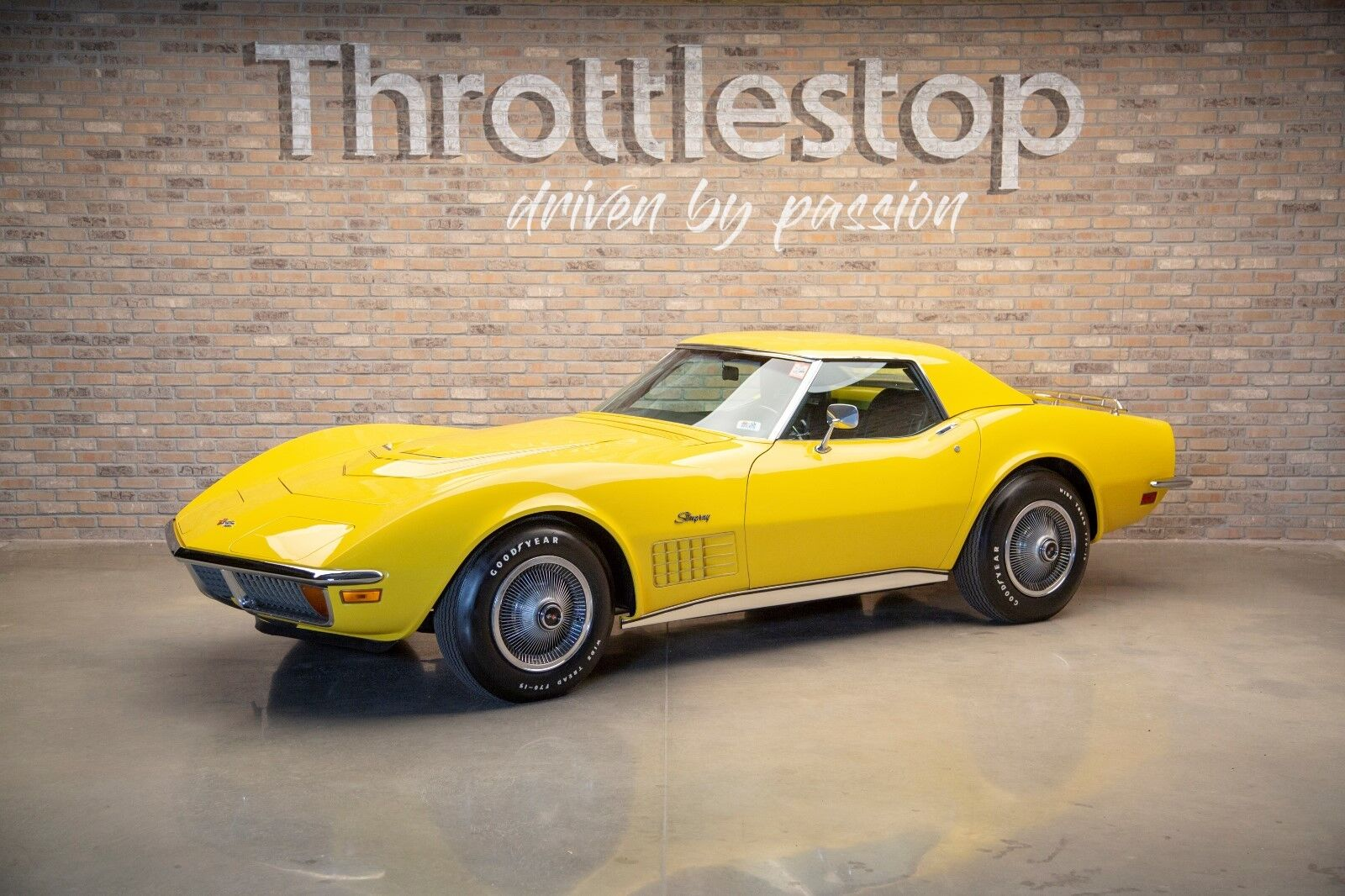1972 Yellow Chevrolet Corvette Convertible  | C3 Corvette Photo 1