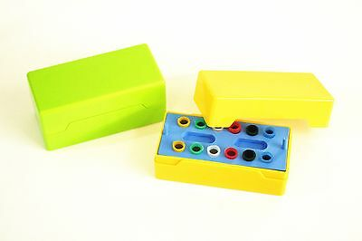 Dental Gutta Percha Points Holder Disinfection Box 12-holes Closed-end 1pc