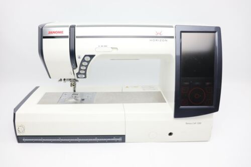Lovingly Used Janome MC12000 Embroidery & Sewing Machine Free Shipping