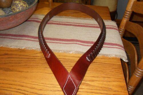 TRIPLE K Leather Ammo Belt Over Shoulder 50 ROUND HOLDER