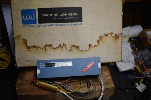Watkins Johnson DLA900-83-G-0023 Permanent Magnetic Backward Wave Oscillator