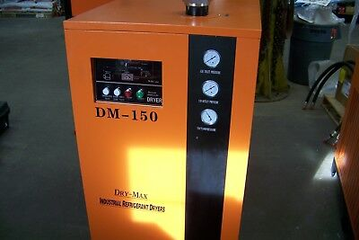 Dry- Max Dm-150 Refrigerated Air Dryer 750 Cfm Pre And After Filter