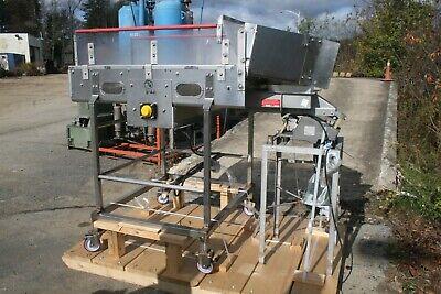 General Conveyor Icing Food Conveyor 30-12w Portable Vibratory Shaker Deck