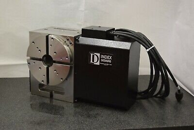 Used 210mm Rotary Table Cnc With Indexer Control Box - Index Designs