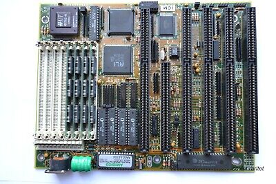 386 AT Motherboard Lucky Star + AMD Am386DX-40 + IIT 4C87DLC + 4MB RAM RETRO KIT